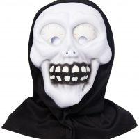 Spooky Frights Kostyme Maske med Hette Barn
