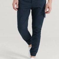 Studio Total Cargobukse Favourite Cargo Trousers Blå