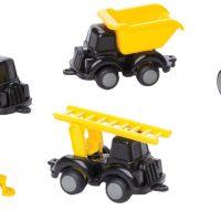 Viking Toys Anleggsbiler Knubbisar, 7-pack