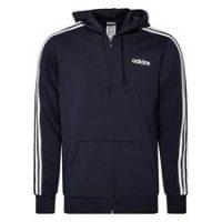 adidas Essentials 3-Stripes Fleece - Navy/Hvit