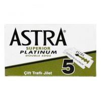 Astra Superior Platinum barberblader 5-pakning