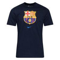 Barcelona T-skjorte Evergreen Crest - Navy Nike