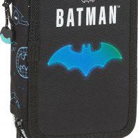 Batman Bat-Tech Pennal Dobbel, Black