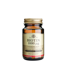 Biotin, 1000 mcg, 50 kapsler