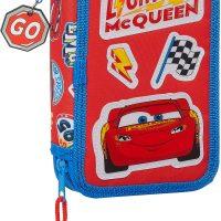 Disney Cars McQueen Pennal Dobbel, Red