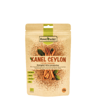 Kanel Ceylon, Ekta Kanelpulver ØKO, 125 g