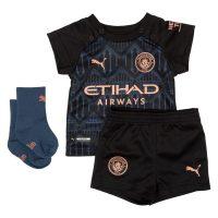 Manchester City Bortedrakt 2020/21 Mini-Kit Barn