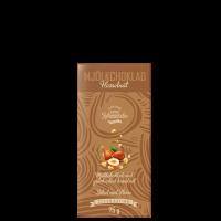 Melkesjokolade Hasselnøtt, 75 g