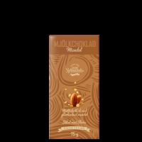 Melkesjokolade Mandel, 75 g