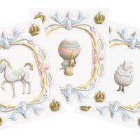 Atelier Choux Veggbilder, Decorative Crowns