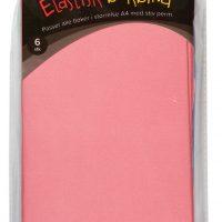 Bokbind Elastisk 6pk Ensfarget Pastell