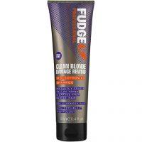Fudge Clean Blonde Damage Rewind Violet-Toning Shampoo, 250 ml Fudge Sølvshampoo