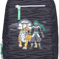 Gym-/tursekk Beckmann 12L Ninja Tiger: Sort