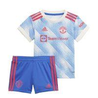 Manchester United Bortedrakt 2021/22 Baby-Kit Barn FORHÅNDSBESTILLING