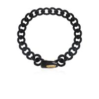 Necklace with appliqué