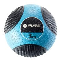 Pure2Improve Medisinball 3 kg blå