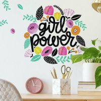 RoomMates Wallstickers Girl Power