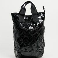 adidas originals 3D PU backpack in black